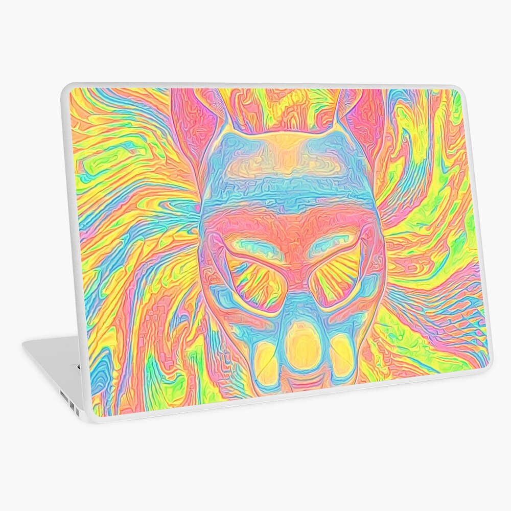 Abstract Mask Laptop Skin