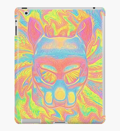 Abstract Mask iPad Case/Skin