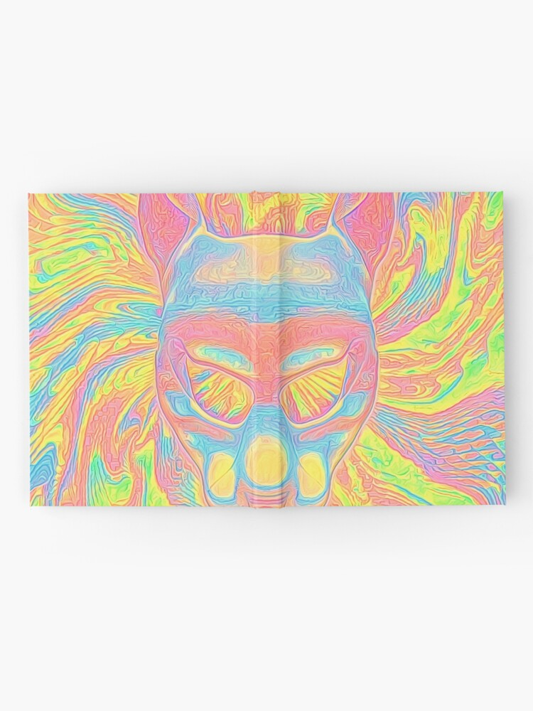 Alternate view of Abstract Mask Hardcover Journal