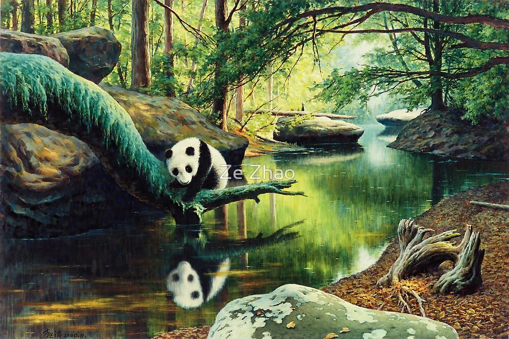 Panda Stream  by Ze Zhao