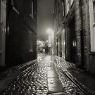 Cobbles in the rain by clickinhistory