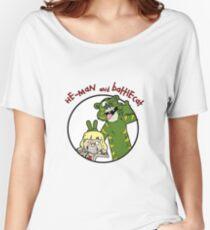 He-man and Battlecat Women's Relaxed Fit T-Shirt