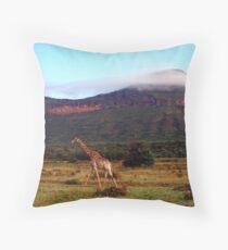 Giraffe II, Entabeni Lodge, South Africa Throw Pillow