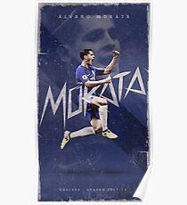 Alvaro Morata Chelsea Poster