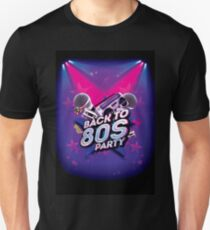 Back to 80's Party T-Shirt