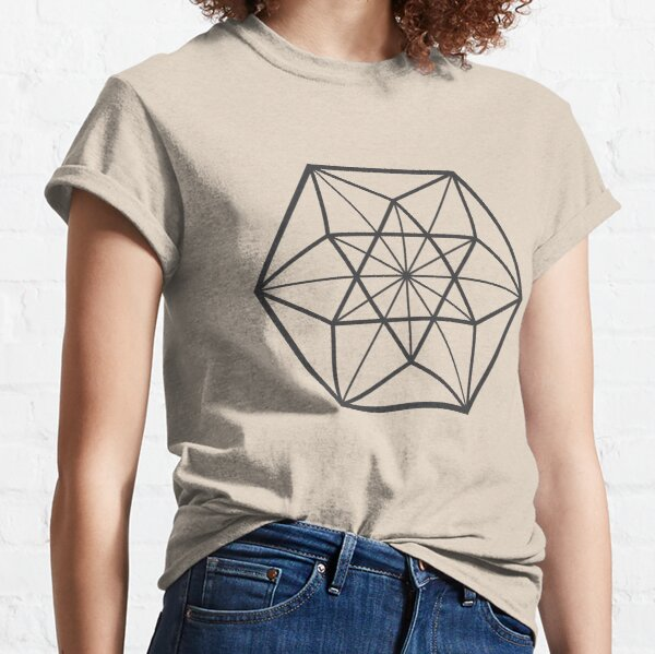 Centered Cuboctahedron (light background) Classic T-Shirt