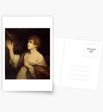 The Calling of Samuel by Joshua Reynolds Postcards