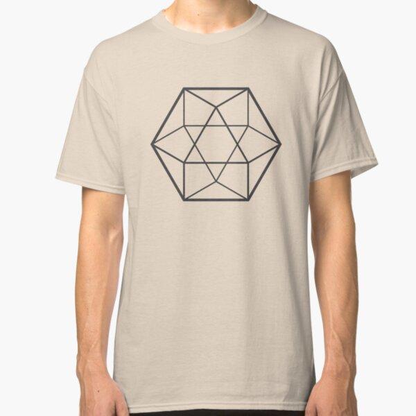 Empty Cuboctahedron (light background) Classic T-Shirt