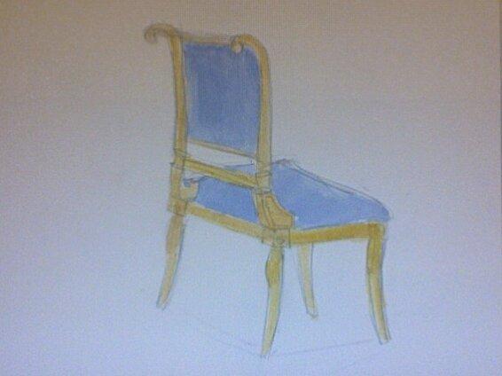 antique chair by umbrella'sinbelgium ...