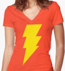 Shazam Shirt mit V-Ausschnitt