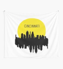 Cincinnati skyline Wall Tapestry
