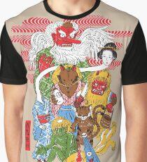 Camiseta gráfica Monster Parade