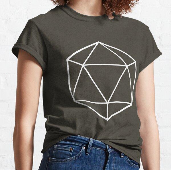 Opaque Icosahedron (dark background) Classic T-Shirt