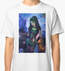 Gothic Zombie - Halloween series 06 Classic T-Shirt