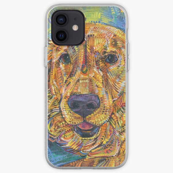 Golden Retriever Painting - 2016 iPhone Soft Case