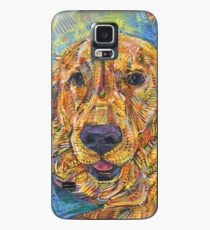 Golden retriever painting - 2016 Case/Skin for Samsung Galaxy