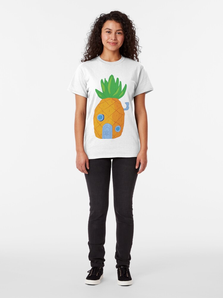 Alternative Ansicht von Spongebob Ananas Classic T-Shirt