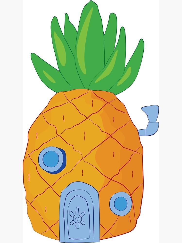 Spongebob Ananas von srucci