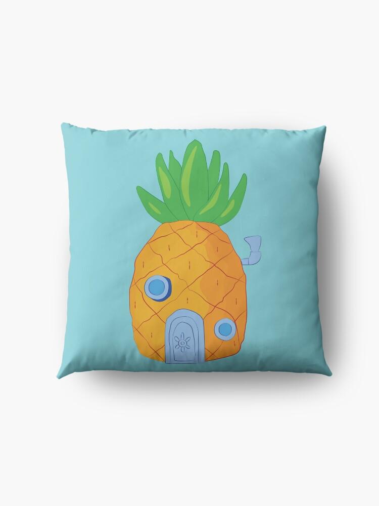 Alternative Ansicht von Spongebob Ananas Bodenkissen