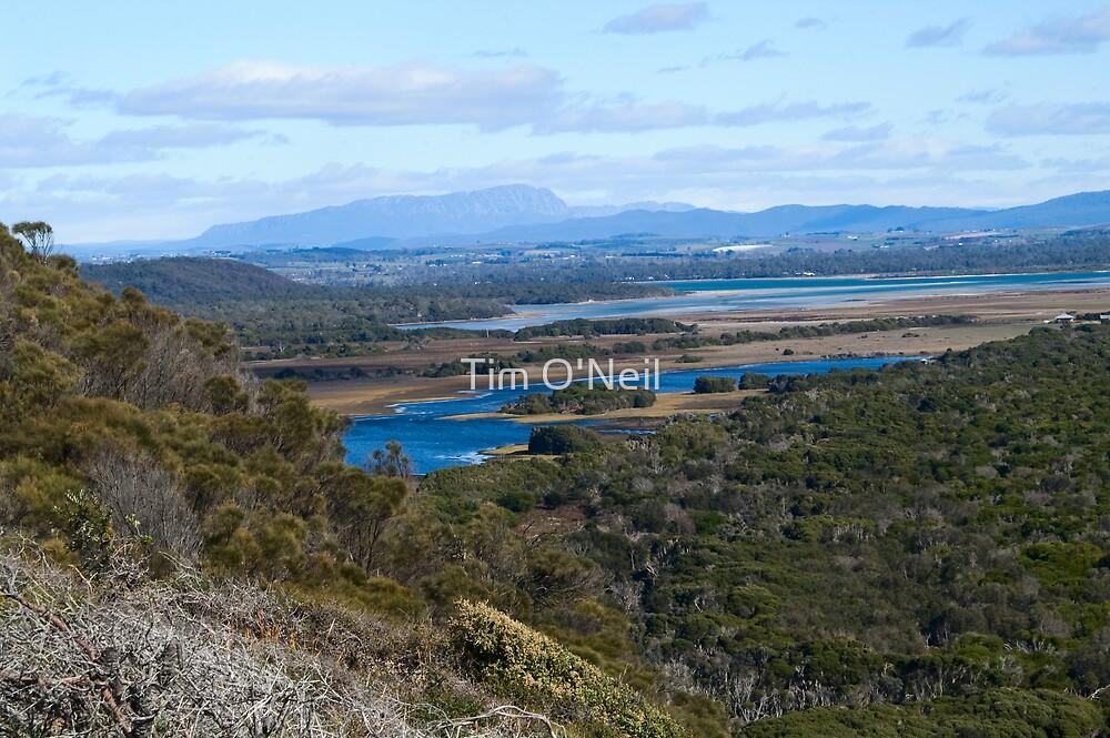 Narawntapu National Park. NW Coast, Tasmania by Tim O'Neil