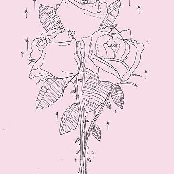 magischer Blumenstrauß (pink) von nevhada