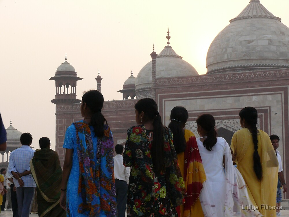 Essence of India, Taj Mahal by Lidiya
