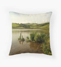sea inlet Throw Pillow