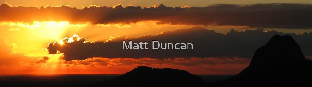 Sunrise: Mount Tibrogargan by Matt Duncan