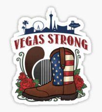 VEGAS STRONG - Vegas Country Music Pride  Sticker