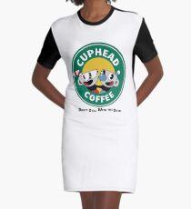 CupHead Mug Graphic T-Shirt Dress