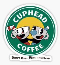 CupHead Mug Sticker