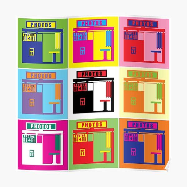 Warhol Photobooth Poster