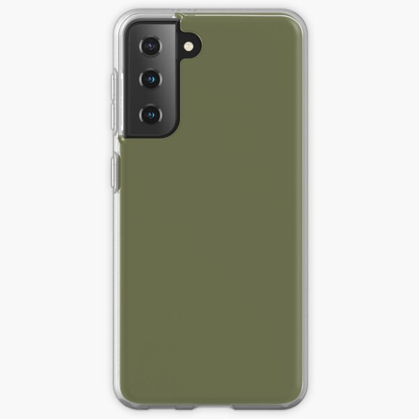 Avocado Olive Green Samsung Galaxy Soft Case