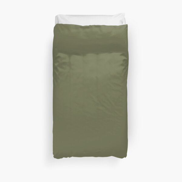Avocado Olive Green Duvet Cover