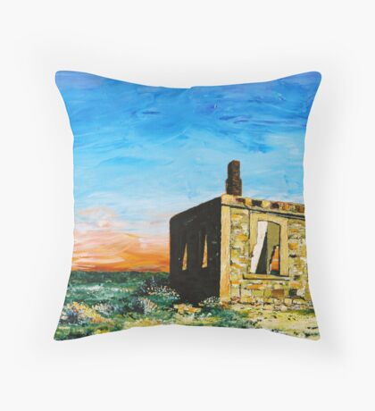 Silverton Ruin Throw Pillow