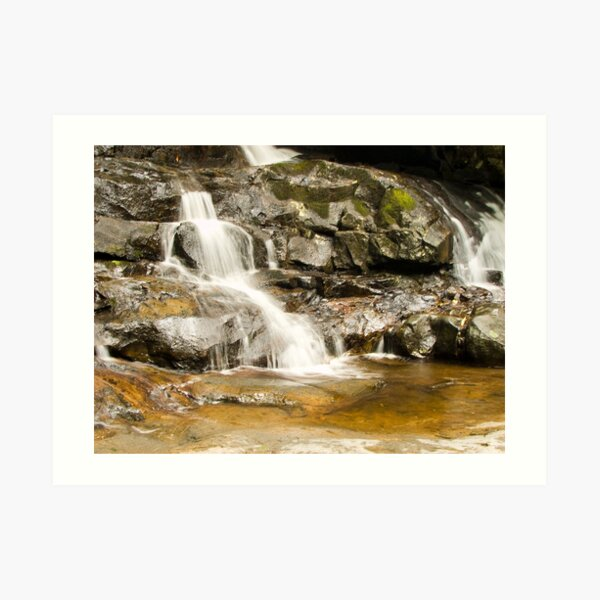 Last of Laurel Falls.... Art Print