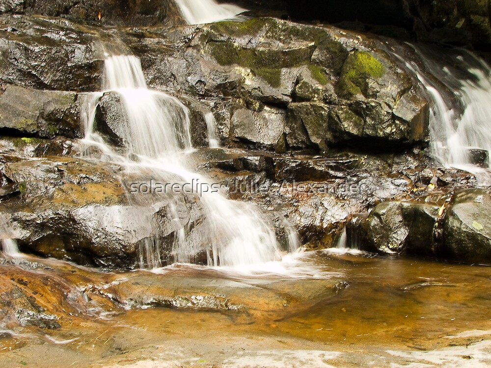Last of Laurel Falls.... by solareclips~Julie  Alexander