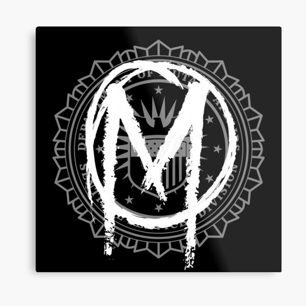 The Gifted - Sentinel Services Mutant Graffiti Metal Print