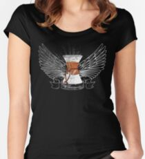 Distressed Chemex Women's Fitted Scoop T-Shirt