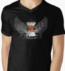 Distressed Chemex Men's V-Neck T-Shirt