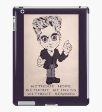 Doctor Falls iPad Case/Skin