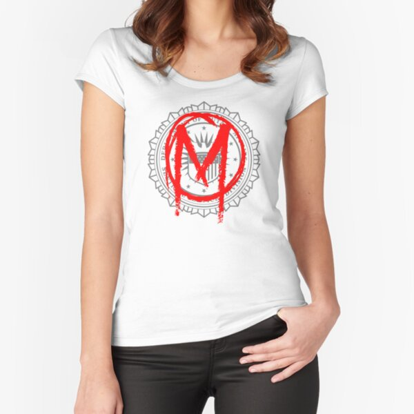 The Gifted - Sentinel Services Mutant Graffiti Fitted Scoop T-Shirt