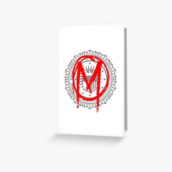 The Gifted - Sentinel Services Mutant Graffiti Greeting Card