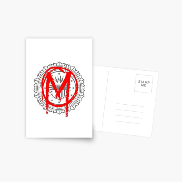 The Gifted - Sentinel Services Mutant Graffiti Postcard