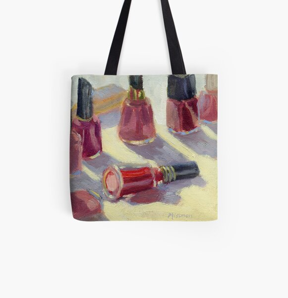 Nail Polish - What Color Today? All Over Print Tote Bag