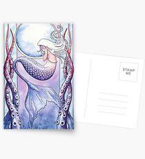 Deep Sea Mermaid Postkarten