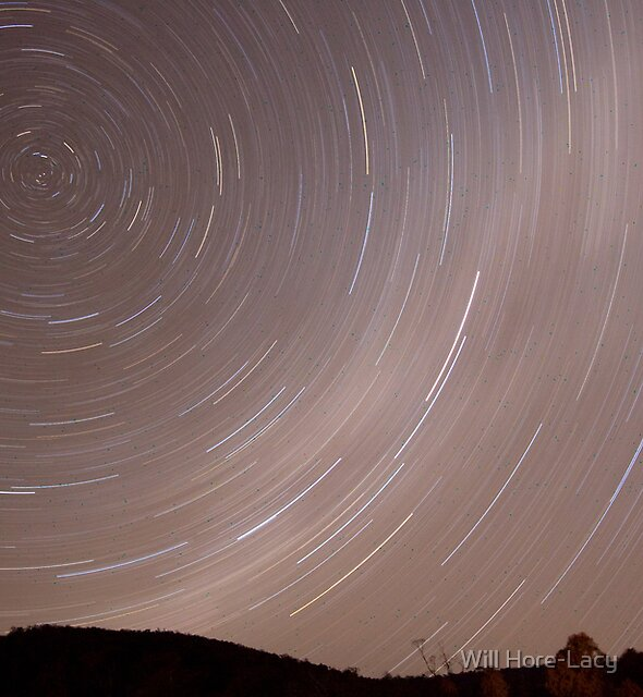 Redbank Star trails by Will Hore-Lacy