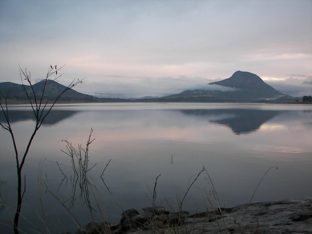 Lake Moogerah by Teddyguuguu