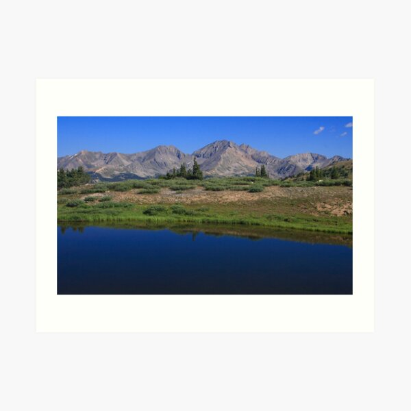 another Cottonwood Pass Day  Art Print