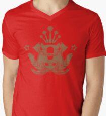 Barista Crest (darkt tees and hoodies) Men's V-Neck T-Shirt